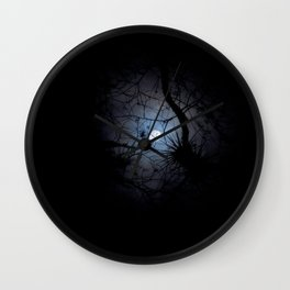 Everglades Moon Wall Clock