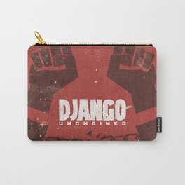 Django Unchained, Quentin Tarantino, minimalist movie poster, Leonardo DiCaprio, spaghetti western Carry-All Pouch