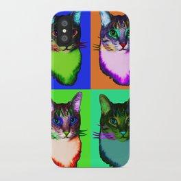 Cat Copy #42 iPhone Case