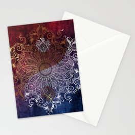 Yang fire & ice Stationery Cards