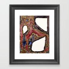 Holding the Void Framed Art Print