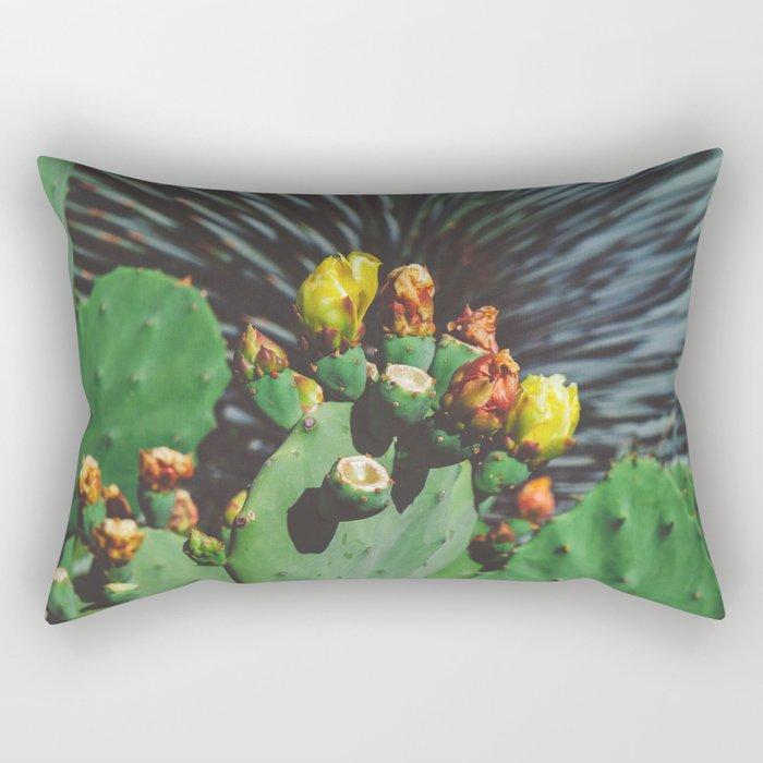 Wild Blooms Rectangular Pillow