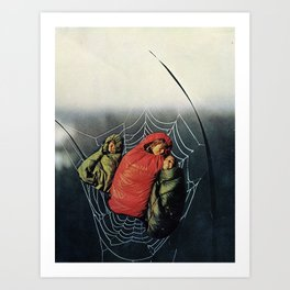 stuck in the middle with you Art Print