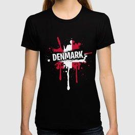 Unique Denmark Shirt Men T-shirt