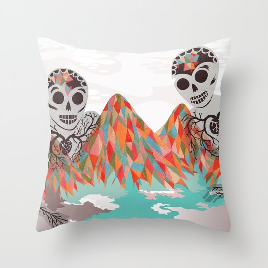 Spectres Throw Pillow