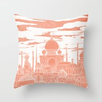 venus Throw Pillows featuring Venus by David Fleck
