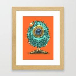 Mr Eye Framed Art Print