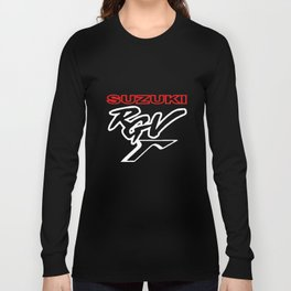Suzuki Rgv 125 250 500 Gamma Style Motorcycle T-Shirts Long Sleeve T-shirt