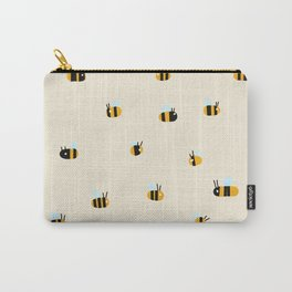 Bees are flying around Carry-All Pouch