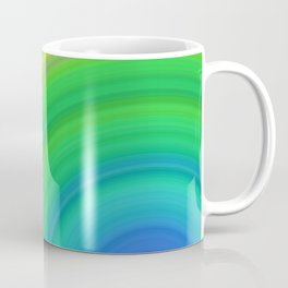 Bright Rainbow | Abstract gradient pattern Coffee Mug