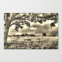 The Vintage Farm Canvas Print