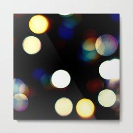 Bright Lights at Night Metal Print