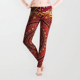 Hippie mandala 33 Leggings