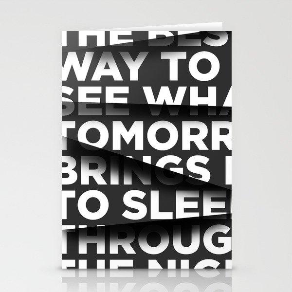 Sleep Through The Night Stationery Cards