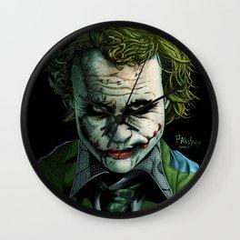 Heath Ledger Joker Wall Clock