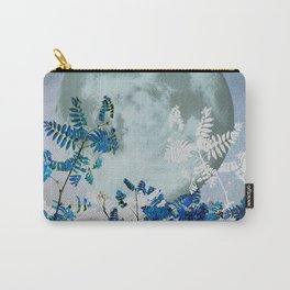 Super Moon v2 - Blue #buyart Carry-All Pouch