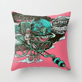 DaPower Airplane 1886 Throw Pillow