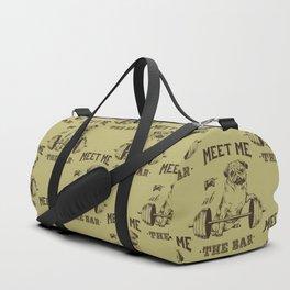 MEET ME AT THE BAR Duffle Bag