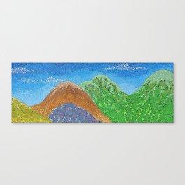 remote vista Canvas Print