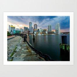 Boston, Massachusetts 1 Art Print