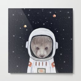 little space bear Metal Print