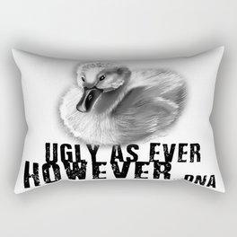 UGLY AS EVER Rectangular Pillow