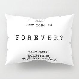 White Rabbit Sometimes  Pillow Sham