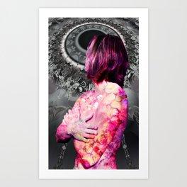 REBIRTH OF VENUS 2017 BW Art Print