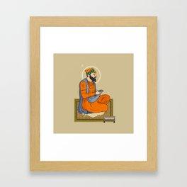 Sri Guru Angad Dev Ji Framed Art Print