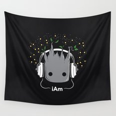 i Am Wall Tapestry
