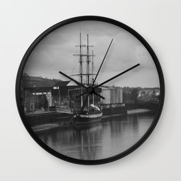 Famine Ship Dunbrody Wall Clock
