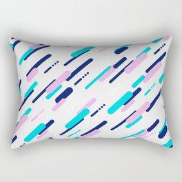 Minimal Geometric Diagonal Pattern Rectangular Pillow