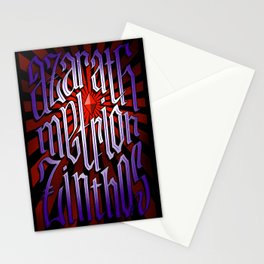 Azarath Metrion Zinthos Stationery Cards