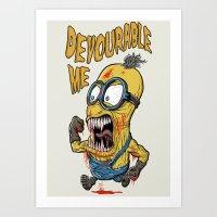 Devourable Me Art Print