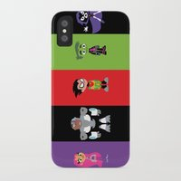 teen titans iPhone & iPod Cases featuring Teen Titans Go by Ese51