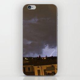 Lightning Crashes (PT 1) iPhone Skin