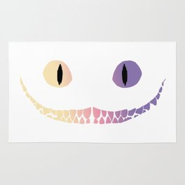 cheshire smile Rug