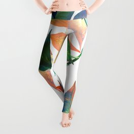Color Leaves Leggings