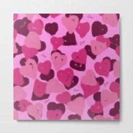 Hearts of Love III Metal Print