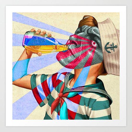 WHATCHA DRINKIN'? Art Print