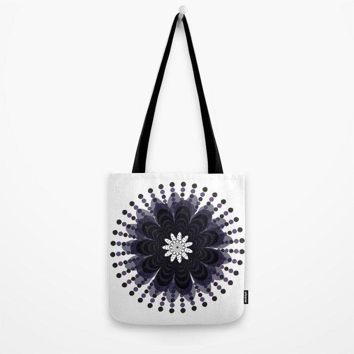 Lilac Mandala Tote Bag