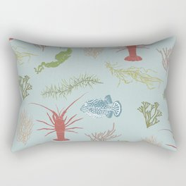 Seaweed Graphics Rectangular Pillow