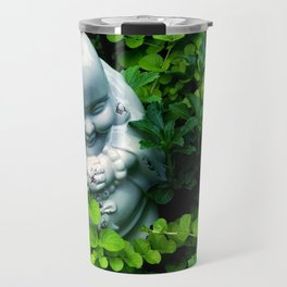 Buddha in Nature Travel Mug