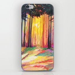 Paint The Forest iPhone Skin