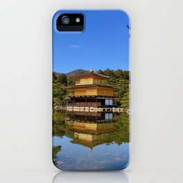 Kinkaku-ji, Golden Pavilion Temple iPhone Case