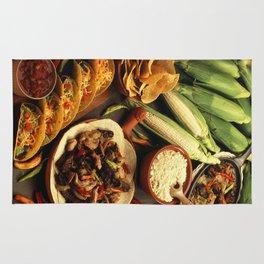 Mexican Food Rug