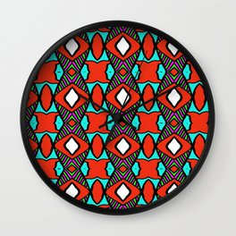 colorpattern Wall Clock