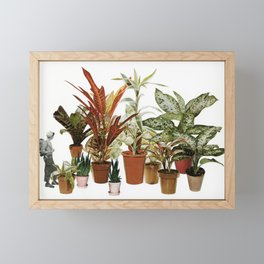 It's a Jungle Out There Framed Mini Art Print