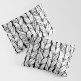 Knitted Pillow Sham