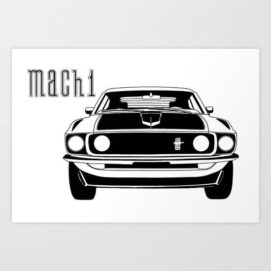 Mach 1 Art Print